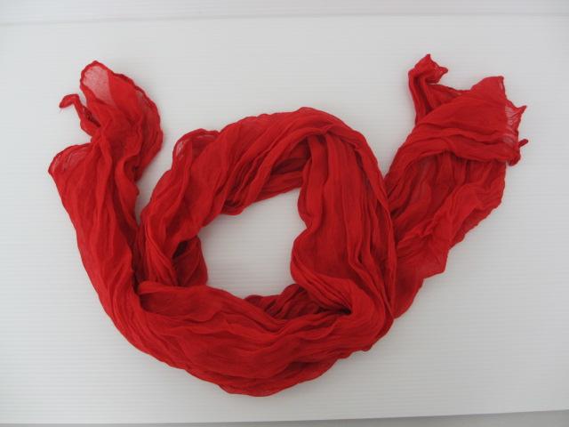 スカーフ スペイン カラー:赤
